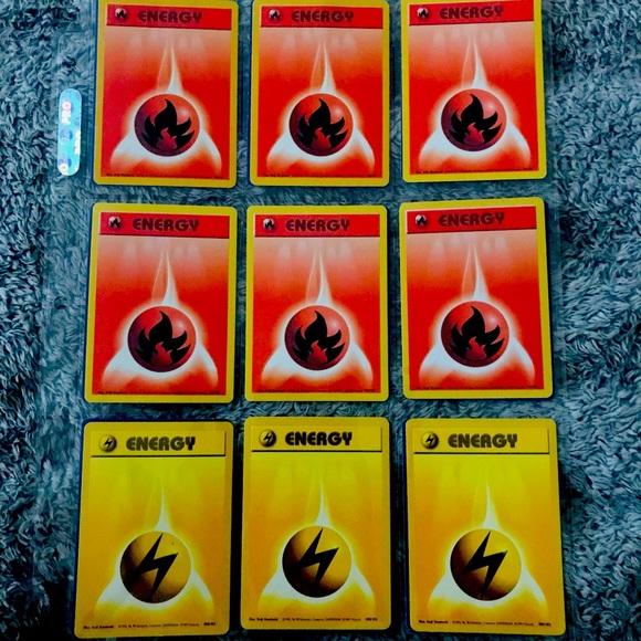 69 energy first edition Pokémon cards